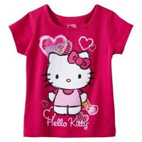 Hello Kitty Infant Toddler Girls' Tee - Power Pink