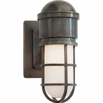 Visual Comfort and Company SL2000BZ-WG Bronze Marine Wall Light