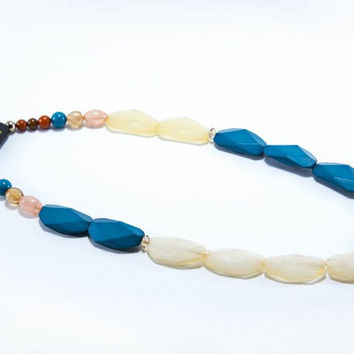 Blue Rock Necklace