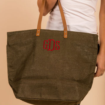 Everything You Need Tote, Brown