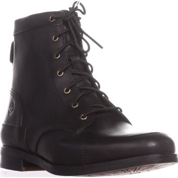 Timberland Somers Falls Mid Lace Boots, Black, 5.5 US / 36 EU