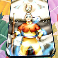 avatar The Last Air Bender Aang Momo And Appa for iPhone 4/4s/5/5S/5C/6, Samsung S3/S4/S5 Unique Case *95*