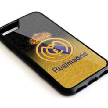 Real Madrid FC Gold iPhone 6 6s 6+ 6s+ 7 7+ Hard Plastic Case