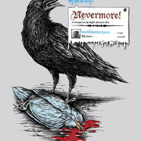 Nevermore! Art Print by Peter Kramar | Society6
