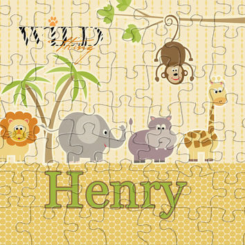 Wild Thing Personalized Puzzle