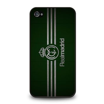 FC REAL MADRID GREEN iPhone 4 / 4S Case