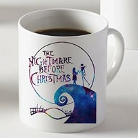 Nightmare Before Christmas Galaxy Mug Two Sides