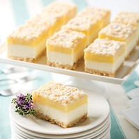 Chesapeake Bay Crab Cakes & More | Lemon Cheesecake Squares - Desserts | Mackenzie Limited