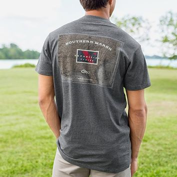 Expedition Series Flag Tee Shirt by Southern Marsh