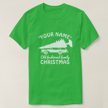 Old fashioned family CHRISTMAS T-Shirt