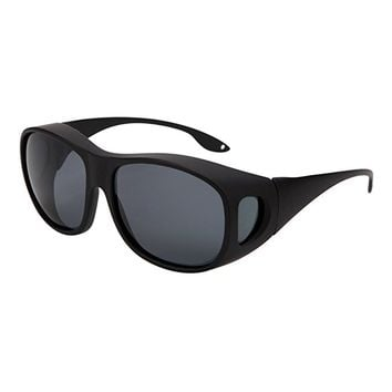 Solarfun Polarized Fit Over Glasses Sunglasses Wrap Around Solar Reduce Shield for Men and Women's Driving