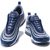 NIKE black Air Max 97 Fashionable casual shoes sports shoes