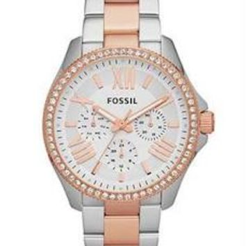Fossil Cecile Ladies Chronograph Quartz Watch AM4496