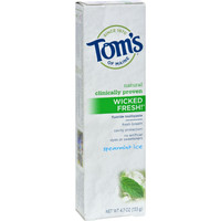 Tom's Of Maine Wicked Fresh Toothpaste Spearmint Ice - 4.7 Oz - Case Of 6