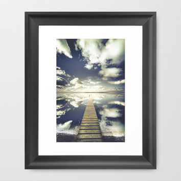 Vanity Framed Art Print by HappyMelvin
