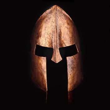 Movie Spartan 300 Greek Warrior Helmet Mask Film Helmet Resin Full face Cosplay Mask Costume Props Collection Halloween