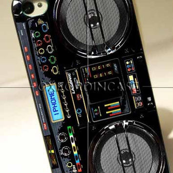 BOOMBOX Ghetto Blaster - for iPhone 4/4S case iPhone 5 case Samsung Galaxy S2/S3/S4 case hard case