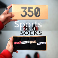 4PCS Transparent Box Box Set Socks [10544464967]
