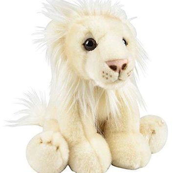"Wildlife Tree 12"" Stuffed White Lion Plush Floppy Animal Heirloom Collection"