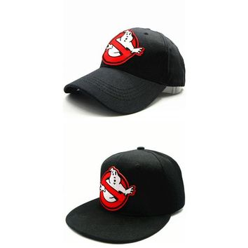 Trendy Winter Jacket LDSLYJR 2018 Fat ghost embroidery cotton Baseball Cap hip-hop cap Adjustable Snapback Hats for kids and adult size 55 AT_92_12