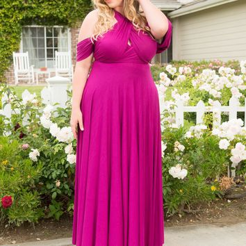 Eternity Maxi Convertible Dress