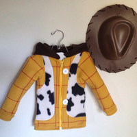 Toy Story Inspired Sheriff Woody Fleece by MagicPrincessWhitney