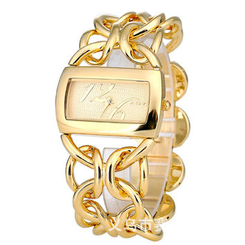 Watch Simple Design Ladies High Quality Alloy Bracelet Watch [8863741575]
