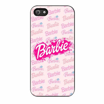 artwork barbie case for iphone 5 5s