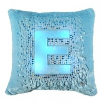 Light Up Initial Pillow | Girls Bedding & Pillows Room Decor | Shop Justice