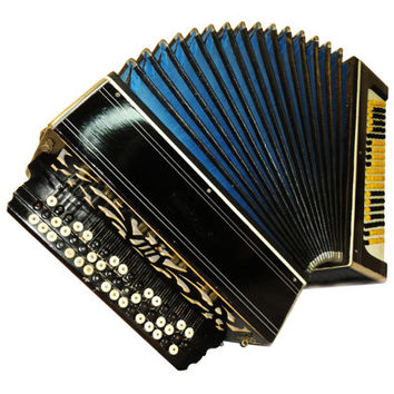 Russian Tula, 100 Bass, Button Bayan, Accordion Instrument, 515