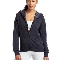 Jillian Michaels Collection by K-SWISS Women's Slim Hoody Charcoal- S