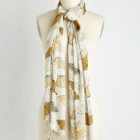 Rainy Day Regal Scarf by ModCloth