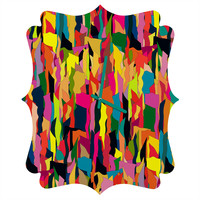 Sharon Turner Riot Quatrefoil Clock