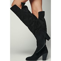 Mackenzie Over The Knee Boots (Black)
