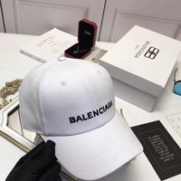 2017 new balenciaga paris women men embroidered outdoor baseball cap hats 3