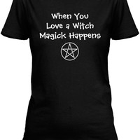 When you Love a Witch Magick Happens