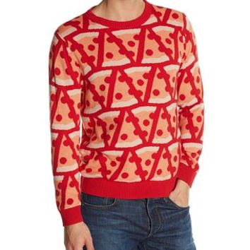 Alex Stevens Men's Pizza Party Sweater