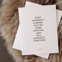 BLACKLAMB Words to Live by Cards