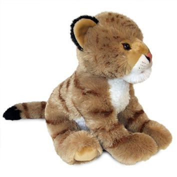 "18"" Liger (Lion/Tiger) Stuffed Animals Floppy Zoo Animal Conservation Collection"