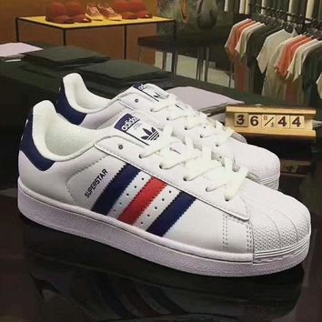 VONE05O Adidas Superstar Shell Toe Causal Sport Shoes Sneakers H-CSXY