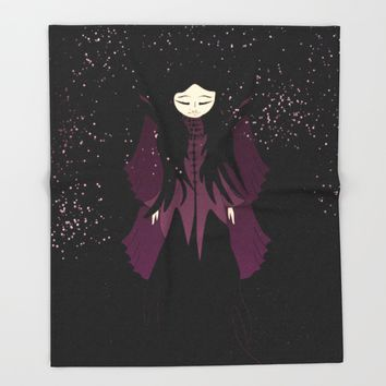 Princess of stars Throw Blanket by VanessaGF