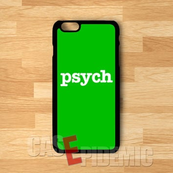 Psych Design -stl for iPhone 6S case, iPhone 5s case, iPhone 6 case, iPhone 4S, Samsung S6 Edge