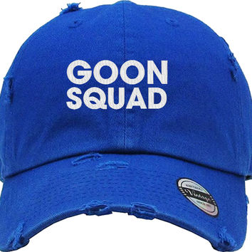 GOON SQUAD Distressed Baseball Hat