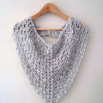 Knitting Pattern Triangle Head Scarf : Best Crochet Triangle Scarf Products on Wanelo