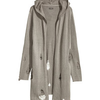 H&M Hooded Cardigan $19.99