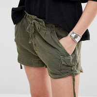 Free People Melvin Tie Short at asos.com