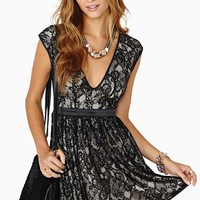 Grand Entrance Lace Dress
