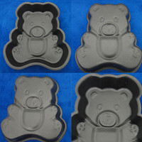 Diy Bear Shape Non-stick Cake Moulds