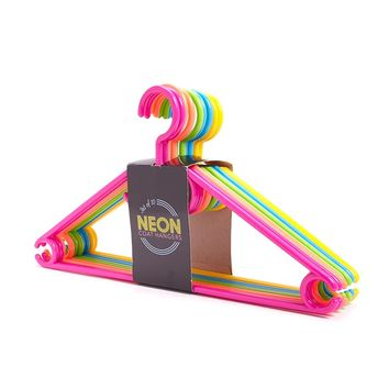 Neon Coat Hanger Set