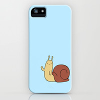Lil' Wavin' Snail iPhone & iPod Case by LookHUMAN